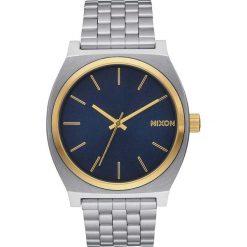 Zegarki męskie: Zegarek męski Gold Blue Sunray Nixon Time Teller A0451922