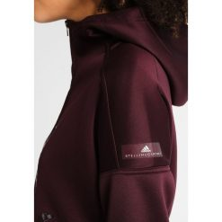 Bluzy rozpinane damskie: adidas by Stella McCartney Bluza z kapturem bordeaux