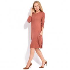 Fille Du Couturier Sukienka Damska Daniela 44 Pomarańcz. Czerwone sukienki z falbanami marki numoco, l. Za 299,00 zł.