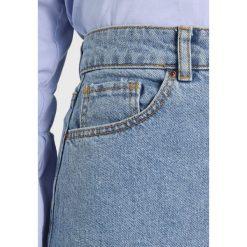 Spódniczki jeansowe: Springfield FALDA MIDI  Spódnica trapezowa blues