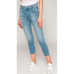 Diesel - Jeansy Fayza Evo. Niebieskie jeansy damskie rurki Diesel, z bawełny. W wyprzedaży za 449,90 zł.