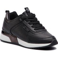 Sneakersy GUESS - FL5MRL FAL12 BLACK. Niebieskie sneakersy damskie marki Guess, z materiału. Za 529,00 zł.