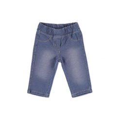 KANZ Girls Spodnie Jeggings light blue denim. Niebieskie spodnie chłopięce marki Kanz, z bawełny. Za 52,00 zł.