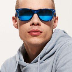 Okulary przeciwsłoneczne męskie: Okulary przeciwsłoneczne – Niebieski