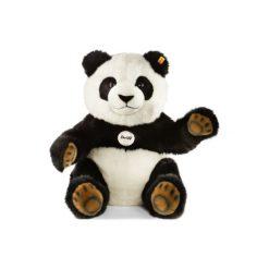 Steiff  Maskotka Pummy Panda 45cm siedząca. Białe przytulanki i maskotki Steiff, z materiału. Za 749,00 zł.