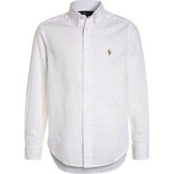 Polo Ralph Lauren Koszula white. Szare bluzki dziewczęce bawełniane marki Polo Ralph Lauren, l, button down, z długim rękawem. Za 269,00 zł.