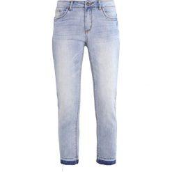 Kaffe AUGUSTE Jeansy Slim fit pale sky blue. Niebieskie jeansy damskie Kaffe, z bawełny. W wyprzedaży za 224,25 zł.