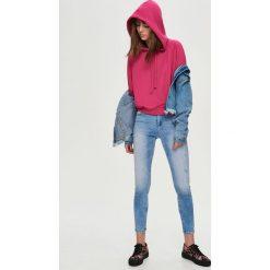 Jeansy skinny push up - Niebieski. Niebieskie jeansy damskie marki Sinsay. W wyprzedaży za 39,99 zł.