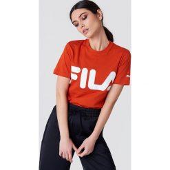 Bluzki, topy, tuniki: FILA Klasyczny T-shirt z logo - Orange