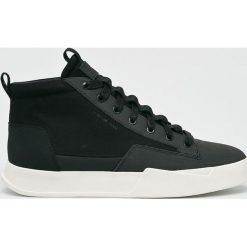 G-Star Raw - Buty. Czarne buty skate męskie G-Star RAW, z materiału, na sznurówki. W wyprzedaży za 449,90 zł.