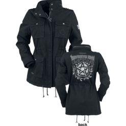 Supernatural Winchester Bros. Kurtka damska czarny. Czarne kurtki damskie Supernatural, xl, z aplikacjami, z polaru. Za 569,90 zł.