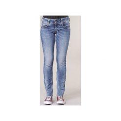 Jeansy straight leg Pepe jeans  GEN. Szare jeansy damskie marki Pepe Jeans, m, z jeansu, z okrągłym kołnierzem. Za 307,30 zł.
