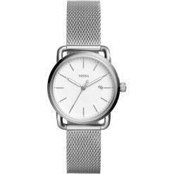 Zegarki damskie: Zegarek FOSSIL – The Commuter 3H Date ES4331 Silver/Silver