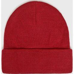 S. Oliver - Czapka. Czerwone czapki zimowe męskie S.Oliver, na zimę, z dzianiny. W wyprzedaży za 69,90 zł.