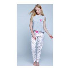 Piżama Unicorn. Białe piżamy damskie marki MAT. Za 81,50 zł.