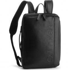 Plecak CALVIN KLEIN - Elevated Logo Conv Backpack K50K503882 001. Czarne plecaki damskie Calvin Klein, ze skóry ekologicznej. Za 699,00 zł.