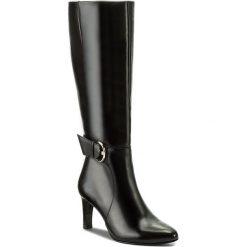 Kozaki HÖGL - 4-106630 Schwarz 0100. Czarne buty zimowe damskie marki HÖGL, z materiału. W wyprzedaży za 619,00 zł.