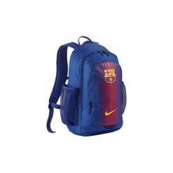 Plecak Szkolny Sportowy Nike Fcb Barcelona. Niebieskie plecaki męskie Nike, z materiału. Za 129,90 zł.