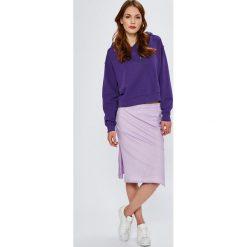 Wrangler - Bluza. Szare bluzy z kapturem damskie Wrangler, l, z bawełny. Za 239,90 zł.