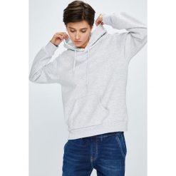 Vero Moda - Bluza. Niebieskie bluzy damskie marki Vero Moda, z bawełny. W wyprzedaży za 89,90 zł.