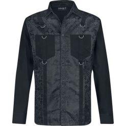 Gothicana by EMP Aguares Koszula czarny. Czarne koszule męskie na spinki marki Leonardo Carbone, s, z materiału, z długim rękawem. Za 224,90 zł.