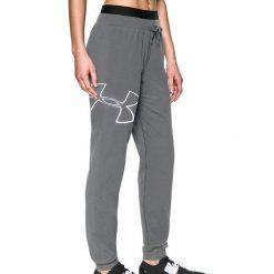 Spodnie sportowe damskie: Under Armour Spodnie sportowe damskie Big Logo Fleece Jogger szare r. M (1320611-035)