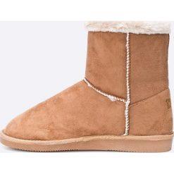 Haily's - Botki Cosma. Różowe buty zimowe damskie Haily's, z gumy, z okrągłym noskiem, na obcasie. W wyprzedaży za 69,90 zł.