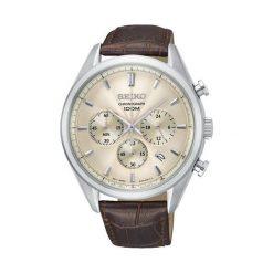 Zegarki męskie: Seiko Chronograph SSB293P1 - Zobacz także Książki, muzyka, multimedia, zabawki, zegarki i wiele więcej