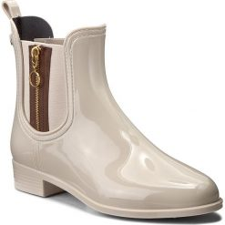 Kalosze GIOSEPPO - 40826 Off White. Brązowe buty zimowe damskie Gioseppo, z materiału. W wyprzedaży za 199,00 zł.