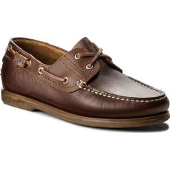 Mokasyny męskie: Mokasyny WRANGLER – Ocean Leather WM181120 Cognac 64