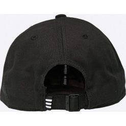 Adidas Originals - Czapka. Czarne czapki z daszkiem męskie adidas Originals, z bawełny. Za 79,90 zł.