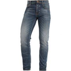 Nudie Jeans TILTED TOR Jeansy Slim Fit bright contrasts. Czarne rurki męskie marki Criminal Damage. Za 579,00 zł.