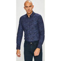 Medicine - Koszula Scottish Modernity. Szare koszule męskie na spinki MEDICINE, l, z bawełny, z klasycznym kołnierzykiem, z długim rękawem. Za 129,90 zł.