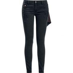 Spodnie damskie: RED by EMP Stars Megan (Skinniy FIt) Jeansy damskie czarny
