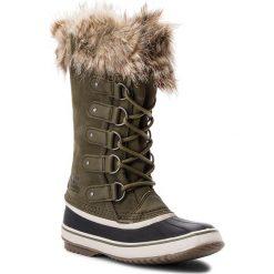 Śniegowce SOREL - Joan Of Arctic NL2429 Nori/Dark Stone 383. Zielone buty zimowe damskie Sorel, z gumy. Za 799,99 zł.