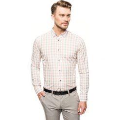 Koszula versone 2756 długi rękaw slim fit pomarańczowy. Brązowe koszule męskie slim Recman, m, z długim rękawem. Za 149,00 zł.