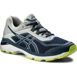 Buty ASICS - Gt-2000 6 T805N  Dark Blue/Mid Grey 4949. Niebieskie buty do biegania męskie Asics, z materiału. W wyprzedaży za 389,00 zł.