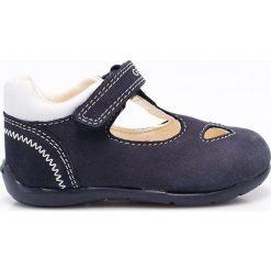 Geox - Baleriny dziecięce. Szare baleriny dziewczęce marki Geox, z gumy. W wyprzedaży za 169,90 zł.