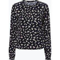T-shirty damskie: Marc O'Polo – Damska koszulka z długim rękawem, niebieski