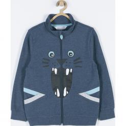 Bluza. Niebieskie bluzy chłopięce rozpinane marki WRAY, z nadrukiem, z bawełny. Za 79,90 zł.