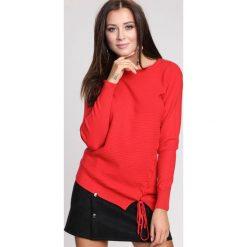 Czerwony Sweter Lust For Life. Czerwone swetry klasyczne damskie other, na jesień, l. Za 69,99 zł.