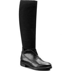 Kozaki CARINII - B3624 G22-E17-000-B42. Czarne buty zimowe damskie Carinii, z materiału. W wyprzedaży za 299,00 zł.