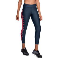 Spodnie sportowe damskie: Under Armour Spodnie damskie UA HG Armr Branded Ankle Cp granatowe r. L (1320587-408)