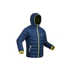 Kurtka narciarska SKI-P JKT 500 WARM męska. Niebieskie kurtki męskie puchowe WED'ZE, m, z materiału, narciarskie. Za 299,99 zł.