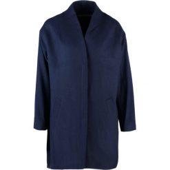 Rue de Femme COCOON  Krótki płaszcz deep water. Niebieskie płaszcze damskie wełniane marki Rue de Femme, xl. W wyprzedaży za 503,30 zł.
