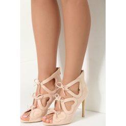 Sandały damskie: Beżowe Sandały Shifty Sneak