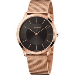 ZEGAREK CALVIN KLEIN K3M2T621. Czarne zegarki męskie Calvin Klein, szklane. Za 1169,00 zł.