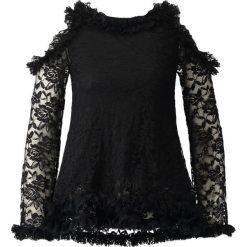 Bluzki asymetryczne: Navy London PIPER Bluzka black