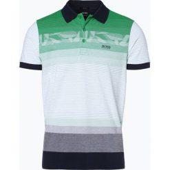 Koszulki polo: BOSS Athleisure – Męska koszulka polo – Paule 6, zielony