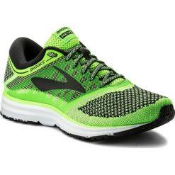 Buty BROOKS - Revel 110260 1D 340 Green/Black/White. Zielone buty do biegania męskie Brooks, z materiału. W wyprzedaży za 369,00 zł.